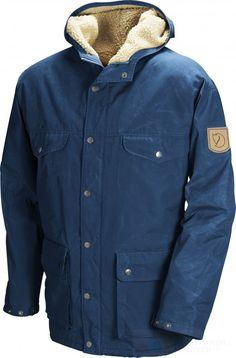 Fjällräven Greenland Winter Jacket, Uncle Blue. Absolute dream winter coat.