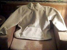 GAP Womens L Beige Fleece Shirt #GAP