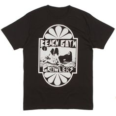 The Growlers Beach Goth Mens Tee | Thalia Surf Shop for classic surf tees and hard to find surf clothing