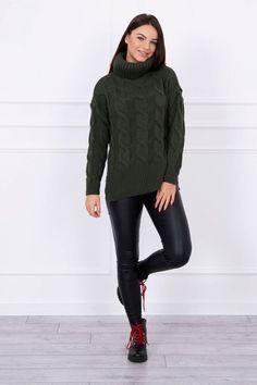 Pulover dama verde - 69 Lei -    Compozitie:  75% akryl ,  10% Wana,  15% nailon . -   Comanda acum!  #divashopromania #divashop #hainefemei #pulovere  #fashion #fashionista #fashionable #fashionaddict #styleoftheday #styleblogger #stylish #style #instafashion #lifestyle #loveit #summer #americanstyle #ootd #ootdmagazine #outfit #trendy #trends #womensfashion #streetstyle #streetwear #streetfashion #shopping #outfitoftheday #outfitinspiration #ootdshare #trendalert #bouti Shops, Streetwear, Turtle Neck, Ootd, Trends, Outfit, Sweaters, Fashion, Tents
