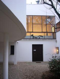 Villa La Roche, also Maison La Roche, is a house in Paris, designed by Le Corbusier and Pierre Jeanneret in 1923–1925. It was designed for Raoul La Roche, a Swiss banker and collector of avant-garde art. Villa La Roche now houses the Fondation Le Corbusier.