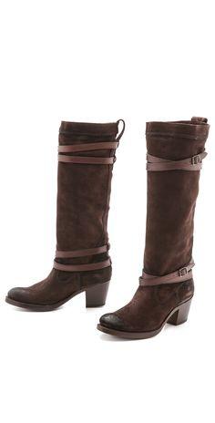 Frye Jane Strappy Boots | SHOPBOP