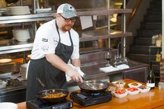 Soby's Executive Chef Shaun Garcia demonstrates how to prepare his Gullah Shrimp & Grits.