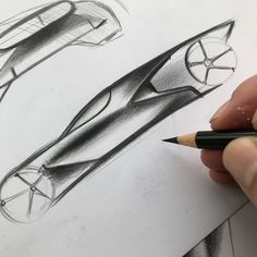 Learn how to draw a car using our step by step tutorials. Sports cars, classic cars, imaginary cars - we will show you how to draw them like the pros. Car Drawing Pencil, Water Fountain Design, Bike Sketch, Car Design Sketch, Hand Sketch, Car Drawings, Transportation Design, Automotive Design, Design Elements