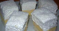 Kókuszos krémes Edit konyhájából recept képpel. Hozzávalók és az elkészítés részletes leírása. A Kókuszos krémes Edit konyhájából elkészítési ideje: 41 perc Dairy, Cheese, Food, Essen, Meals, Yemek, Eten