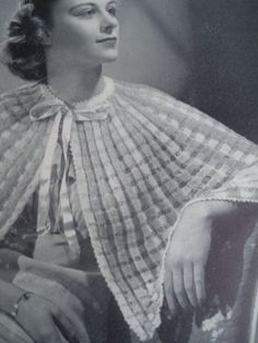 Knitting Pattern For Bed Shawl : 1000+ images about DESIGN Pattern on Pinterest Vintage knitting, 1930s an...
