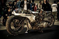 """SPIKE"" 1946 Knucklehead Land Speed Racer. Chabott Engineering, Shinya Kimura"