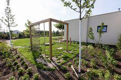 Dream Garden, Home And Garden, Backyard Landscaping, Playground, Outdoor Structures, House Design, Landscape, Garden Ideas, Internet