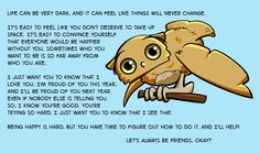 I'm hanging in there, you guys. I hope so are you. All my love and best wishes for the coming year.  Boggle the Owl, practical mental health advice