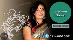 Book Jaspinder Narula From Artistebooking.com...!! #JaspinderNarula #Artistebooking #Singer ( #Online #Artist #Booking #Agency) For More Details call : +91 11 40016001