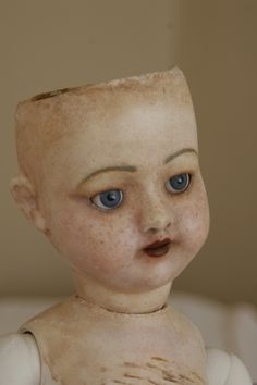 Gala Smaga Inspired Antique doll with new paint