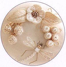 stumpwork embroidery - Mary Corbet's Needle 'N Thread