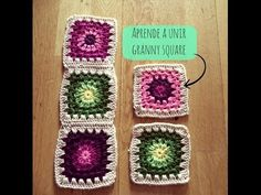 Transcendent Crochet a Solid Granny Square Ideas. Inconceivable Crochet a Solid Granny Square Ideas. Crochet Zig Zag, Joining Crochet Squares, Crochet Doily Rug, Spiral Crochet, Crochet Snowflake Pattern, Granny Square Crochet Pattern, Single Crochet Stitch, Crochet Bear, Crochet Baby Hats