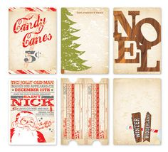 Love these.vintage Christmas cards