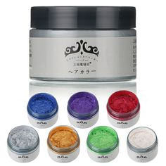 Unisex DIY Hair Color Wax Mud Disposable Temporary Modeling Dye Cream 6 Colors is Healthy-NewChic Mobile