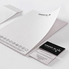 bezigncreative.com – Corporate Stationery design Grand Slam Events