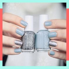 And these sexy Latest Easy Nail Art Designs for Short Nails 2016 will make your cute nails the next most beautiful thing on earth after you. Love Nails, How To Do Nails, Pretty Nails, My Nails, Chic Nails, Gorgeous Nails, Simple Nail Art Designs, Short Nail Designs, Easy Nail Art
