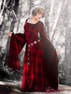 Morgause medieval costume