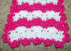 Pretty Stripes Scarf Free Crochet Pattern