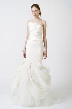 vera wang 'fiona' mermaid gown