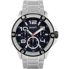 6528ce47f91 Sou Barato Relógio Masculino Orient Multifunção Prata MBSSM041 PBSX -  R 199