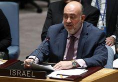 Prosor: En vez de la bandera palestina, ONU puede izar la blanca en señal de rendición