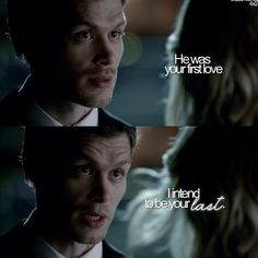 Oh, Klaus . I love you so! The Vampire Diaries quote, TVD quote, sweet Klaus quote. Caroline Forbes, Klaus E Caroline, The Vampire Diaries 3, Vampire Diaries Quotes, Vampire Diaries The Originals, Bonnie Bennett, Christian Grey, The Cw, Crossover