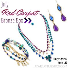 July Silver Buzz Box - only 59.99 for all of these great pieces! FREE S&H in the USA!