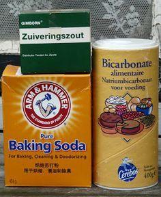 De verschillende soorten Soda die er te koop zijn, de nederlandse, engelse en wetenschappelijke namen voor allen en een heleboel leuke recepten waaronder voor tandpasta, deodorant, wasmiddel, tapijtreiniger, luchtreiniger etc.