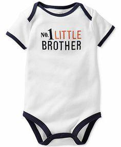 Carter's Baby Boys' Boy Genius Bodysuit