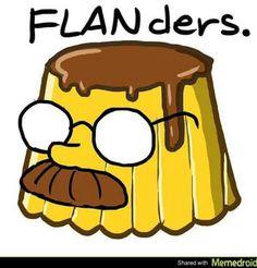 Flanders! Flan! #compartirvideos #imagenesdivertidas #compartirvideos…