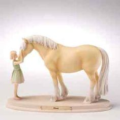 Kisses 2012 Enesco Horse Whispers Palomino Pony 7in Figurine 4028504 | eBay