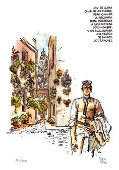 CÓRDOBA POR SIEMPRE: Corto Maltés... en Córdoba  > monasterio  de san jerónimo