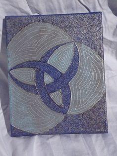 """8x10"""" Acrylic and glue on canvas"""
