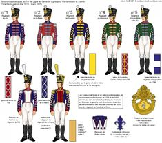 French; Tentative uniforms for the Drummers & Cornets of 1st to 5th Line Infantry under the First Resoration(May 1814 to March 1815)