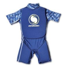 7ba2d4eb6af Swimline Blue Lycra Boy s Floating Swim Trainer Wet Suit Life Vest Large  9894B - Walmart.com
