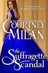The Suffragette Scandal by Courtney Milan A must read for all HR lovers and history buffs. This story was so moving. Loved the dialogue about the thimble and river Thames. 5 stars from Angel B