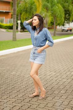 OiClo: Look da Clo: Jeans + Jeans #alljeans #denimjeans #look #outfit