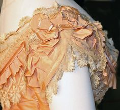 Dress (image 8 - detail) | French | 1864 | silk | Metropolitan Museum of Art | Accession Number: 1979.346.119a–d