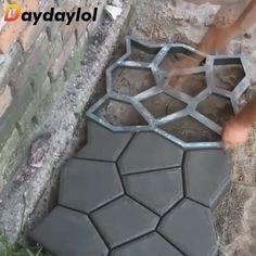 HG/® Plaster Form Paving Maker Cobblestone Paving