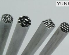 Free shipping. Hand made chasing and repousse tools  by Yunke
