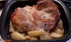 Χοιρινό στη γάστρα με πατάτες, γιορτινό λουκούμι! | Συνταγές Pork, Meat, Kale Stir Fry, Pigs
