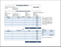 Petty Cash Receipt Template Free Word Editable  The Proper