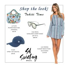 Shop these beach chic vacation looks Singapore Fashion, Beach Tunic, Beach Look, Swimwear Fashion, Get The Look, Searching, Vacation, Summer Dresses, Elegant