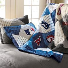 Going To Have Make This For The Game Room New MLB American League Quilt Sham