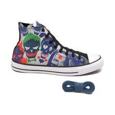 Converse Chucks Hi sneakers Gr. 6 39 Batman Joker Limited Edition Scarpe da Ginnastica