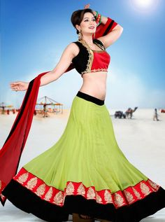 Click This Link For Buy This Product http://www.silkmuseumsurat.in/lehenga_choli/superb-android-green-net-lehenga-choli