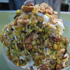 Arabic Ice Cream - Bakdash, Damascus, Syria by Backpack Foodie, via Flickr