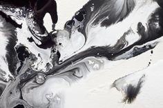 Monochrome Acrylic Paint