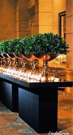 66 Ideas For Wedding Table Settings Elegant Candles Table Centerpieces, Wedding Centerpieces, Wedding Decorations, Table Decorations, Centrepieces, Party Decoration, Deco Floral, Wedding Table Settings, Event Decor